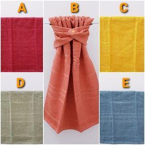 #9105-R2 *Solid Fall Colors Hang'N'Snap HAND Towel
